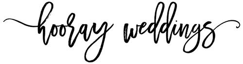 Featured on Hooray Weddings Blog